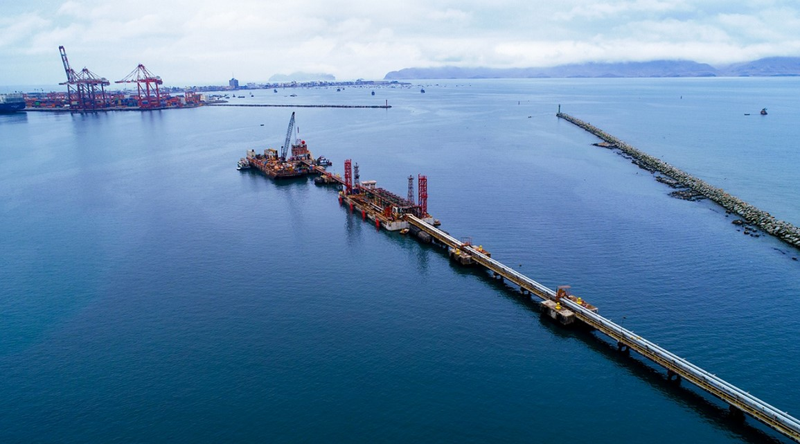 Hydrocarbon dock of the Callao Port Terminal is ready to receive ships of up to 35 thousand tons