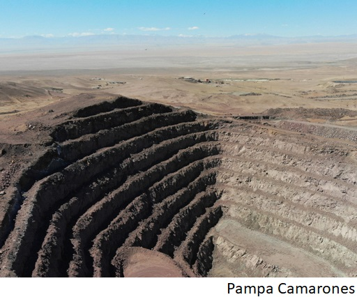 Chile's Pampa Camarones copper mine reportedly up for sale