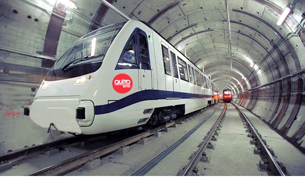 Quito metro gets new funds and averts paralysis