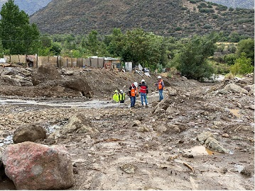 Chile rains cause landslides, energy cuts, water problems