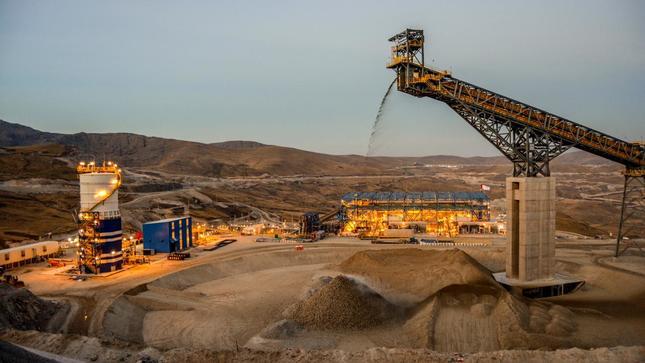 Producción minera de Perú exhibe sólida recuperación