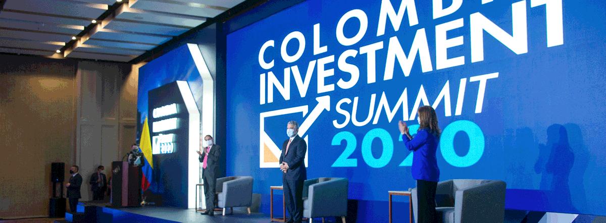 Colombia Investment Summit cerró con 2.198 citas de negocio y anuncios por US$1.340 millones