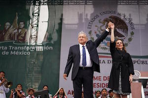 How are AMLO's infra plans progressing a year after his election?
