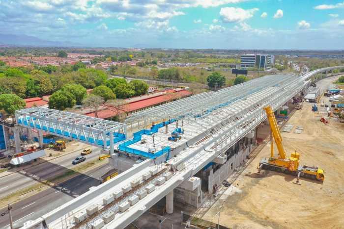 Panamá alcanza 75% de avance en 2da línea de metro y adjudica licitación de US$9mn