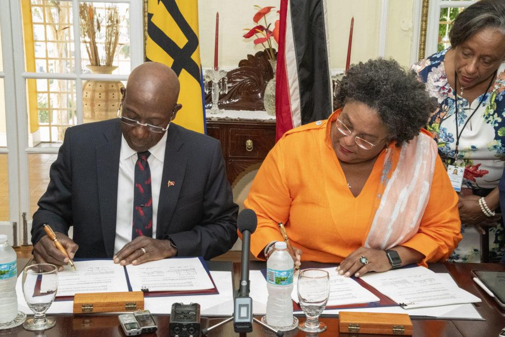 Trinidad y Tobago y Barbados firman Acuerdo de Unidad