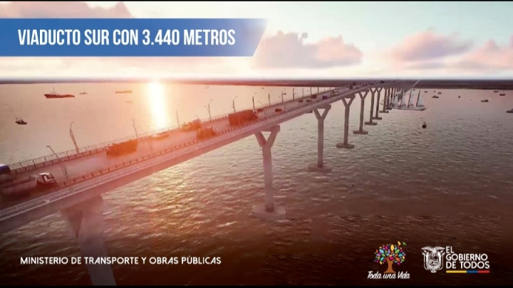Foreign firms signal interest in US$800mn Guayaquil bridge