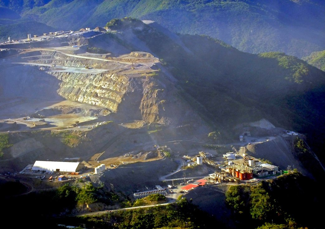 Producción de mineras de oro quiebra tendencia en México
