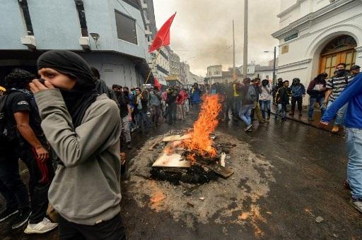 Ecuador president declares state of emergency over strike