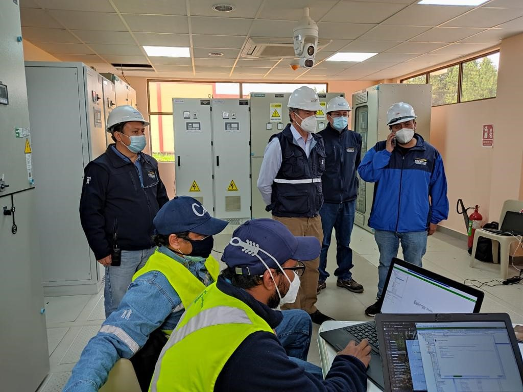 CELEC EP incorporates the new La Paz substation, at 138 thousand volts, to the National Transmission System