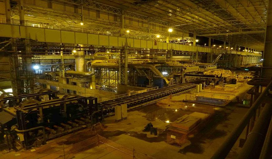 Producción siderúrgica desciende pese a proyecciones