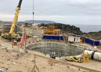 Work on US$250mn Chile desal plant to finish in April