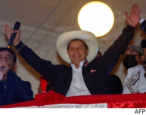 Empresarios dan bienvenida a presidente electo de Perú