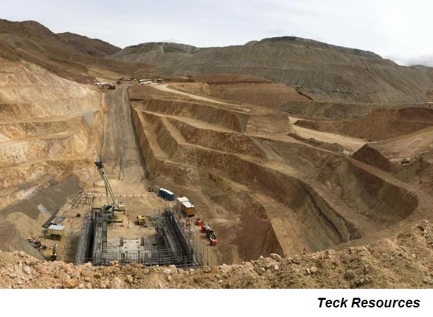 Disturbios en Chile afectan proyecto QB2 de Teck
