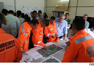Radioactive tailings dam emergency simulation deemed succesful