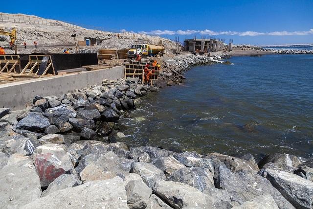 Antofagasta: MOP confirma que obras siguen en funcionamiento en medio de emergencia por Covid-19