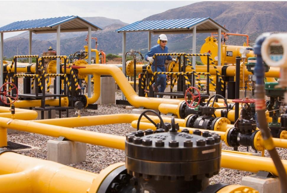 Bolivia incrementa a 18 MMMCD las exportaciones de gas natural hacia Argentina y gradualmente a Brasil