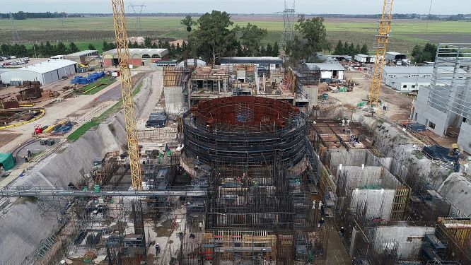 Techint suspende construcción de reactor nuclear Carem
