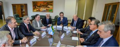 Se reunieron los ministros de energía de Argentina y Brasil