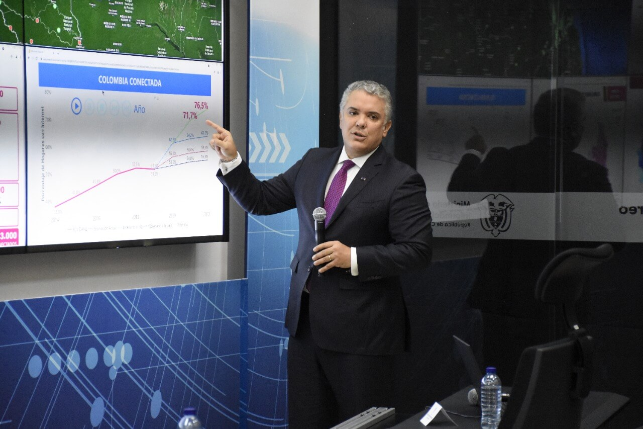 Colombia inaugura centro de monitoreo y analítica de TIC