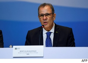 Ministro de minería y energía de Brasil contrae coronavirus