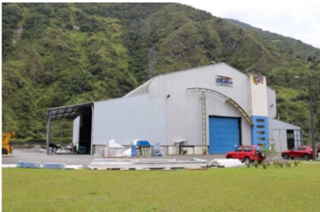 Se inició el montaje del sistema robotizado para metalizado en el Centro de Investigación y Recuperación de Turbinas Hidráulicas de CELEC EP