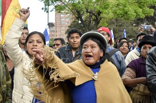 Evo Morales a punto de ganar reelección en Bolivia, protestas violentas al grito de
