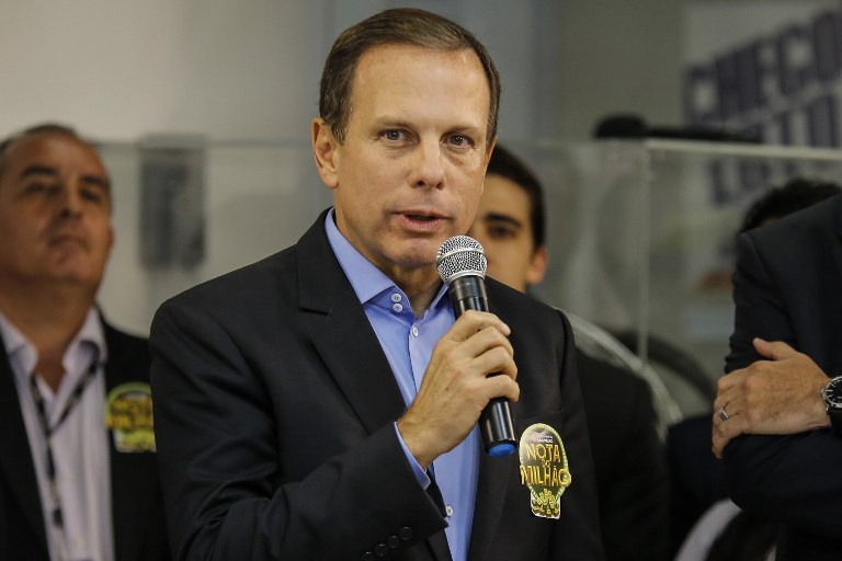The São Paulo governor who's emerging as a Bolsonaro rival