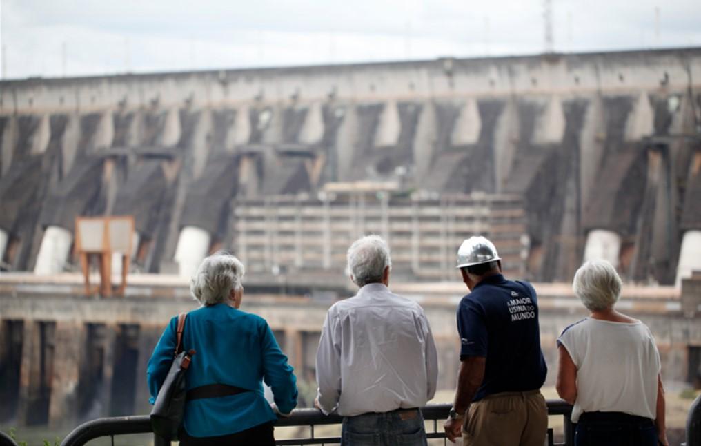 Binational hydro watch: Itaipu supplies record volume