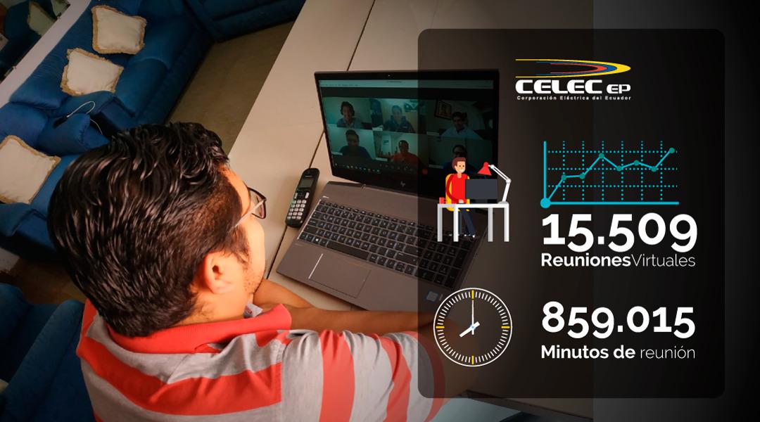 Plataformas digitales optimizaron la gestión de CELEC EP durante la crisis sanitaria por el covid-19