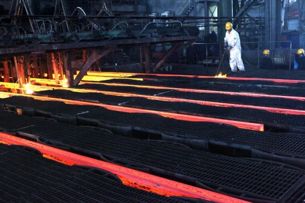 South American steel output rises
