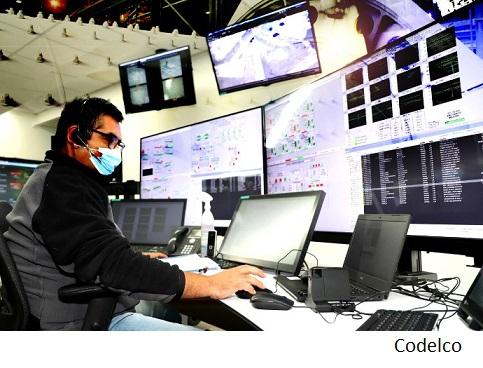 Codelco abrirá centro integrado de operaciones en Santiago