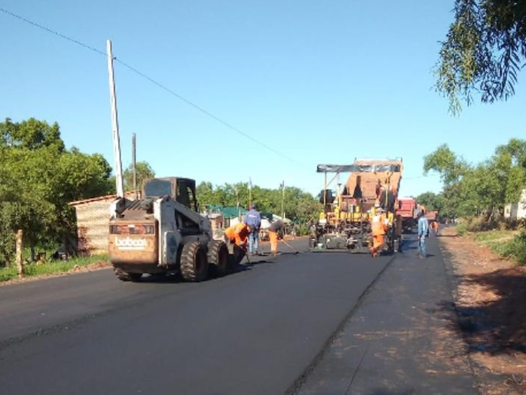 Paraguay speeds up hospital access road works