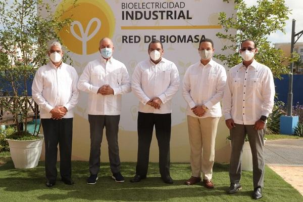 Relanzan Red de Biomasa para promover uso de la biomasa en República Dominicana