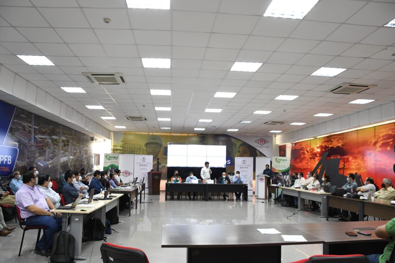 Bolivia cierra una etapa más en la construcción de la Agenda de Reactivación de Hidrocarburos