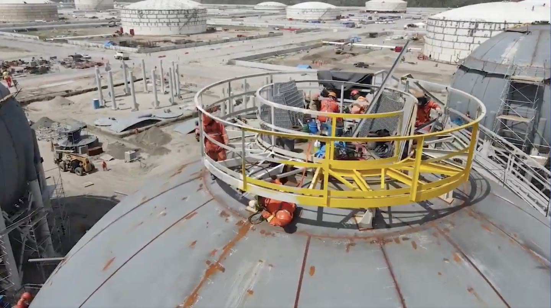 México informa avances en construcción de refinería petrolera Dos Bocas