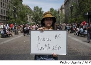 Disminuye incertidumbre en Chile en medio de protestas