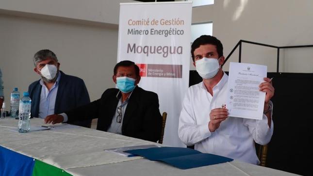 Moquegua: Conforman el Comité de Gestión Minero Energético para promover el desarrollo sostenible de las regiones