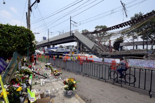Mexico City metro disaster: US paper points to ex-mayor, construction company