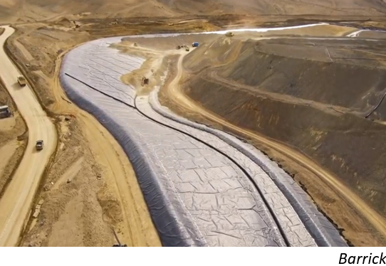 Barrick's plans on the Argentina-Chile border
