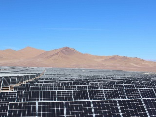 The potential of solar powered mining in Chile