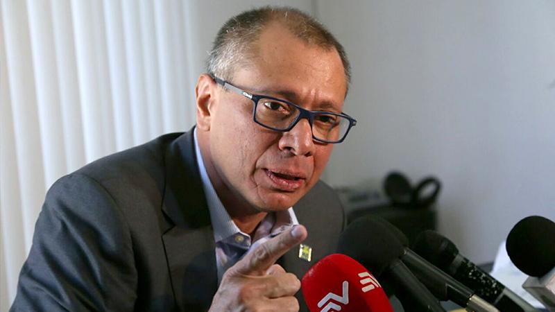 Ecuador VP gets 6-year jail sentence in Odebrecht case