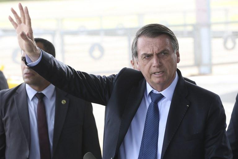 Bolsonaro y su preocupación por las protestas en Chile