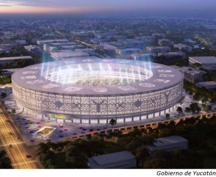 Mexico confirms Yucatán sports stadium
