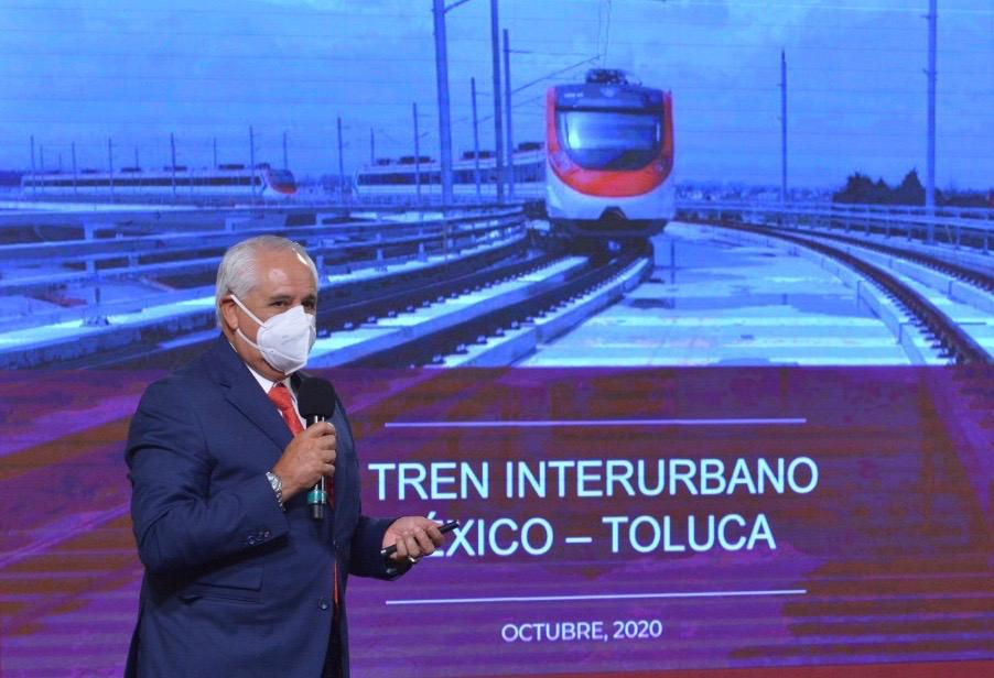 Works for Mexico-Toluca Interurban Train are progressing; a comfortable, safe and efficient transport alternative
