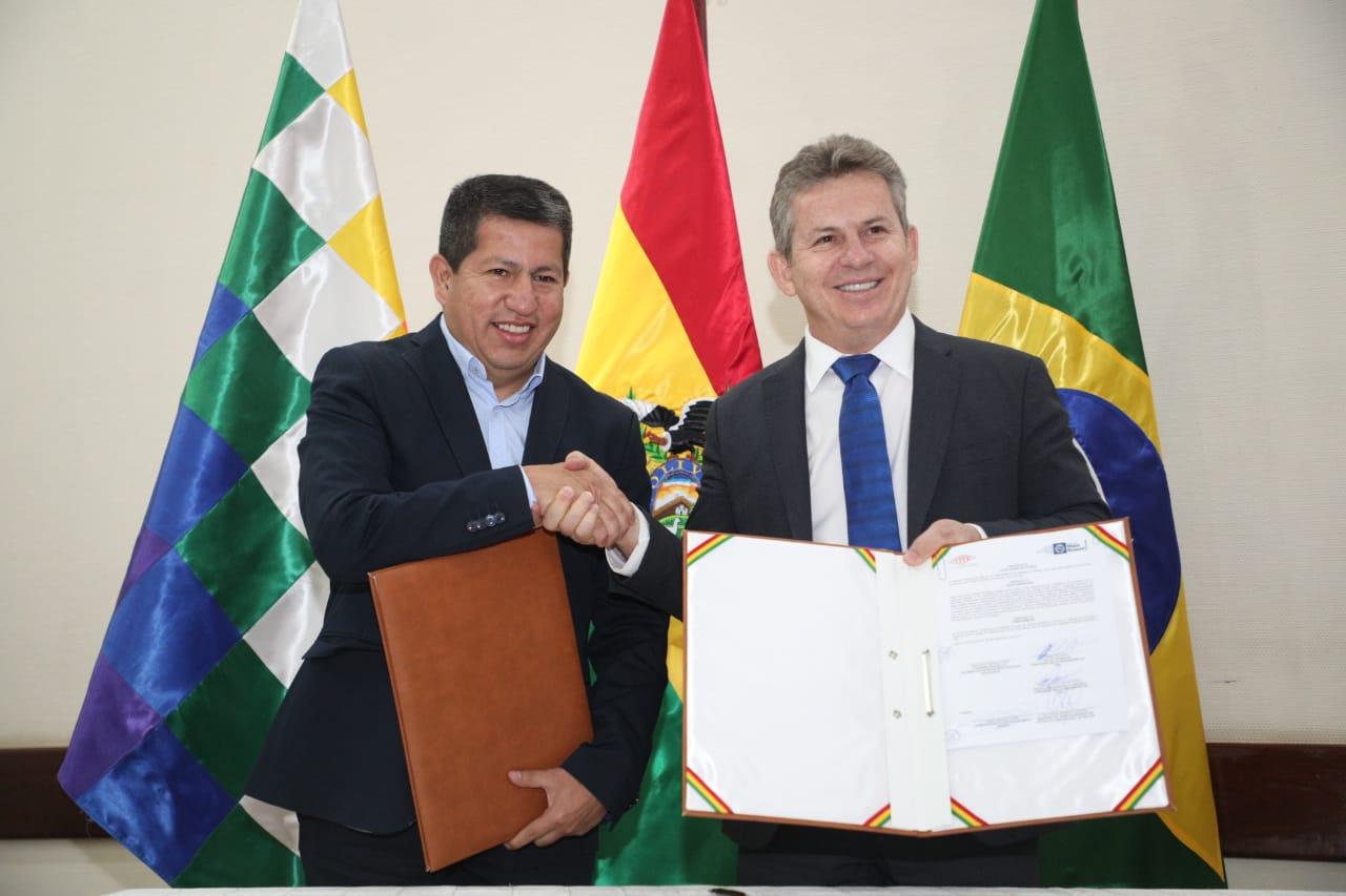 Bolivia concreta exportación de gas natural a la empresa MT Gas de Mato Grosso y creación de empresa boliviano–brasilera