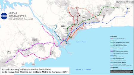 Mapping out the future of Panama City's metro system