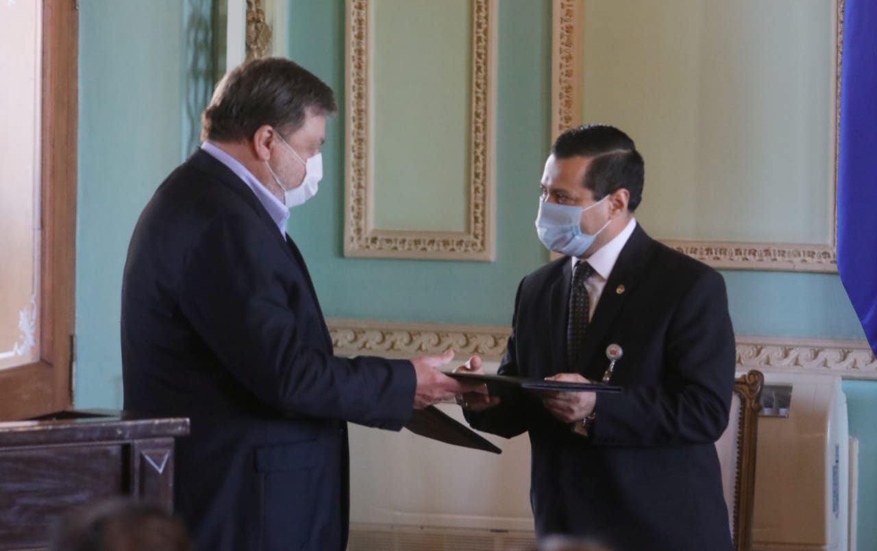 Paraguay signs contract for the execution of strategic works for 2023