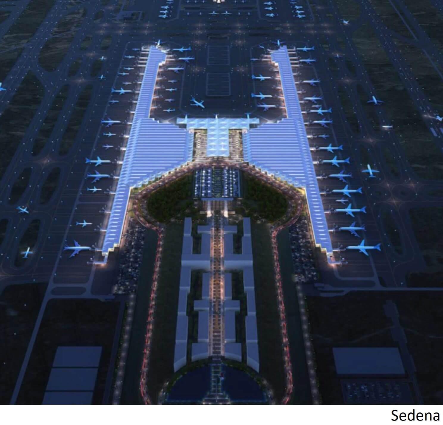 Fideicomiso militar cubre la mayor parte de los US$4.000mn del aeropuerto de Santa Lucía