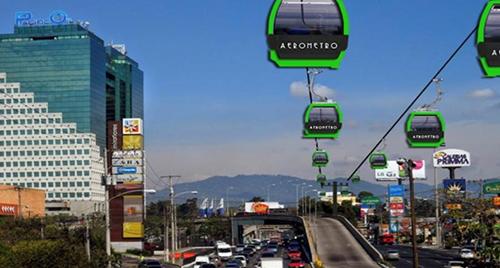 Centroamérica recurre a teleféricos para transporte público