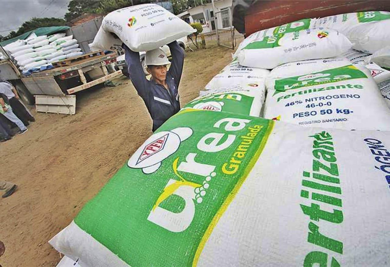Intención de compra de urea boliviana sobrepasa las 20 mil toneladas en mercado interno